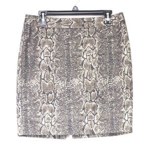 Worthington Snake Print Skirt!